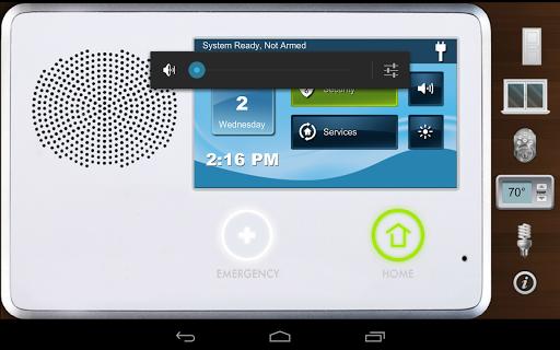 2GIG Go Control Demo - Tablet