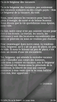 Screenshot of Recueil de Prières