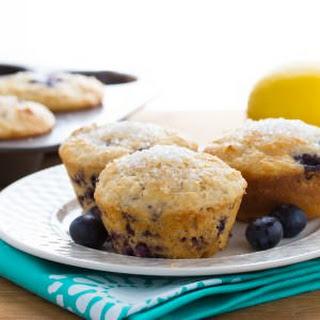 Skinny Blueberry Buttermilk Muffins