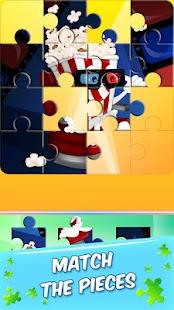 Puzzle Hry - Kreslené Filmy - náhled