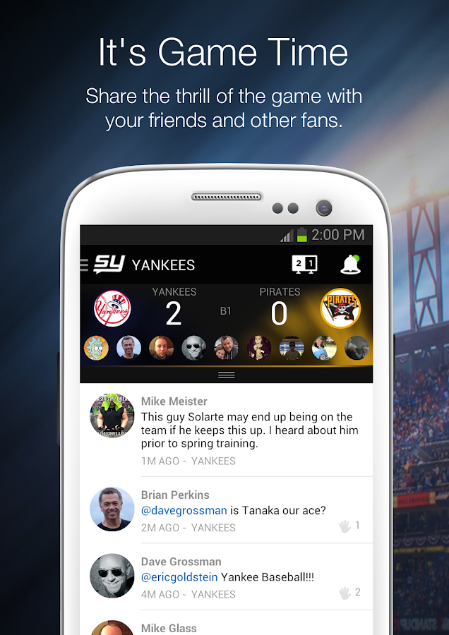 SportsYapper - screenshot