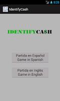 Screenshot of IdentifyCash
