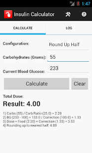 Insulin Calculator- screenshot thumbnail