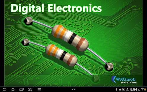 Digital Electronics by WAGmob - screenshot thumbnail