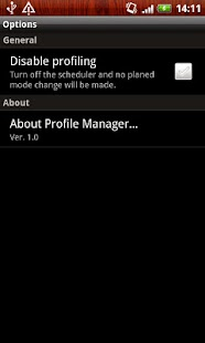 Profile Manager - screenshot thumbnail
