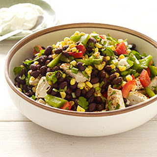 Southwestern Chicken-Bean Salad