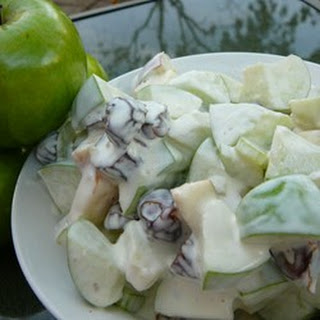 Triple Crunch Apple Salad
