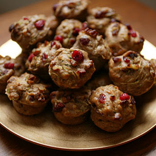 Zucchini and Cranberry Mini-Muffins