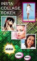Screenshot of Collage Bokeh
