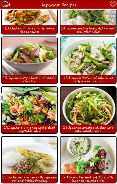 Japanese recipes free android apps on google play japanese recipes free screenshot forumfinder Gallery