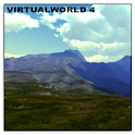 VirtualWorld 4 Live Wallpaper logo