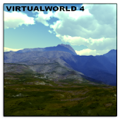 VirtualWorld 4 Live Wallpaper