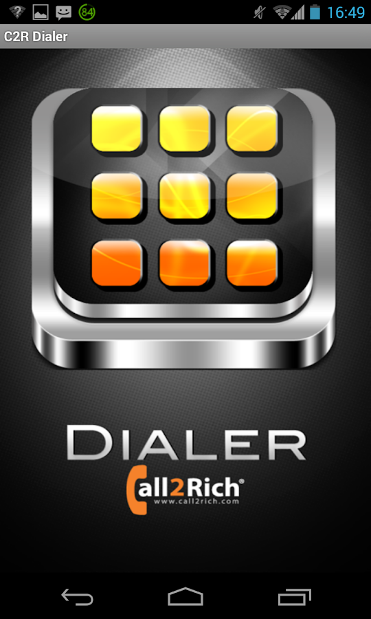 C2R Dialer - screenshot