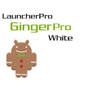 LauncherPro GingerPro White icon