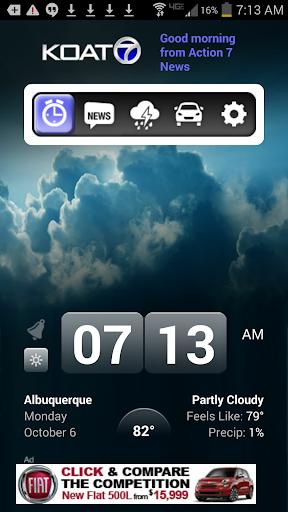 Alarm Clock KOAT 7 New Mexico