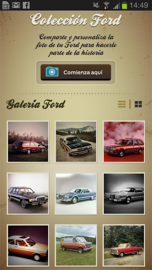 Ford Collection - screenshot