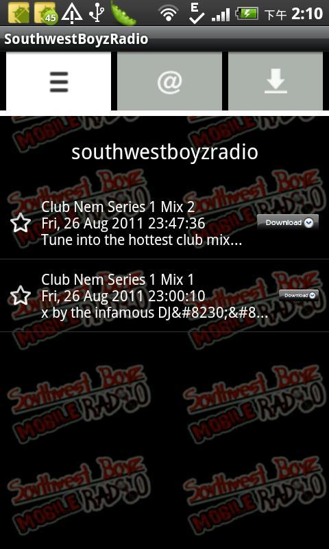 SouthwestBoyzRadio- screenshot