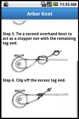 Mynature fishing knots android apps on google play for Common fishing knots
