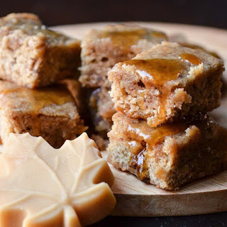 Maple Pecan Blondies.