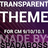 CM10/CM11 Transparent Purple