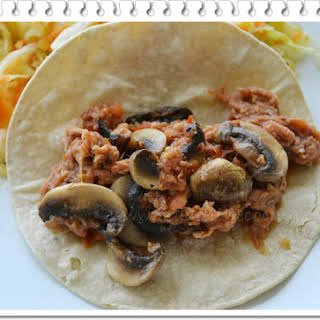 Shredded Meat with Mushrooms.