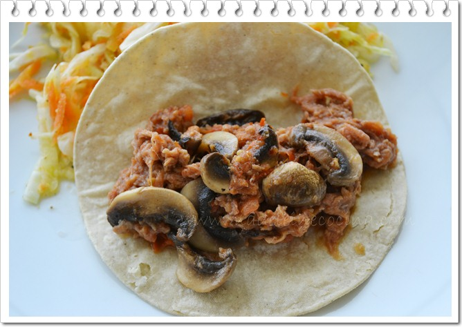 Shredded Meat with Mushrooms Recipe