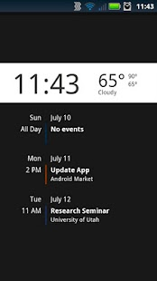 Lockscreen Agenda Pro - screenshot thumbnail