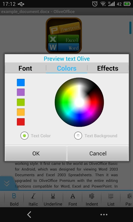 Olive Office Premium (free) - screenshot