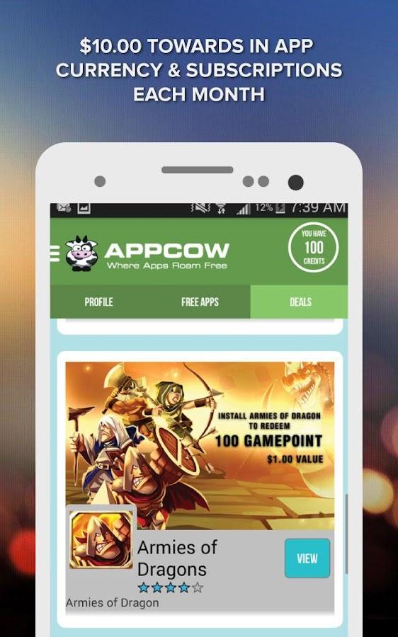 APPCOW - screenshot