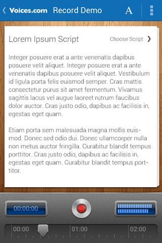 Voices.com - screenshot