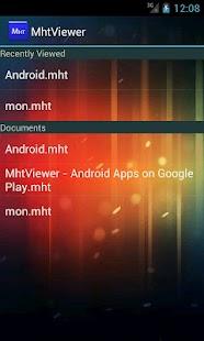 MhtViewer - screenshot thumbnail