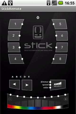 Stick Remote - screenshot