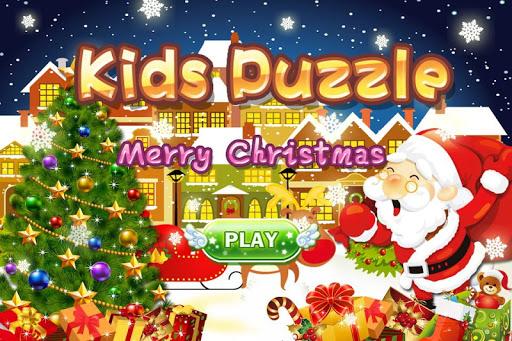 キッズパズル - メリークリスマス 英語の動物学の知識