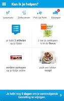 Screenshot of Appie van Albert Heijn