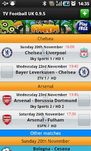 TV Football UK- screenshot thumbnail