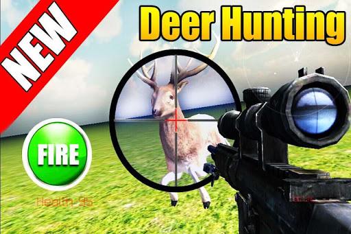 鹿狩獵狙擊手射擊3D