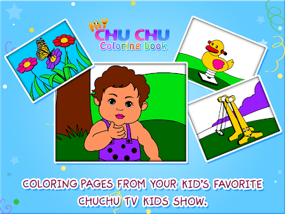 MyChuChu Coloring Book- screenshot thumbnail