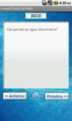 Frases de Duplo Sentido 1.2 screenshots 3
