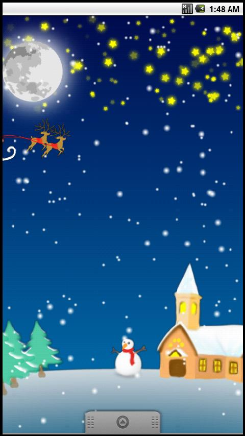 Christmas Live Wallpaper Lite - screenshot
