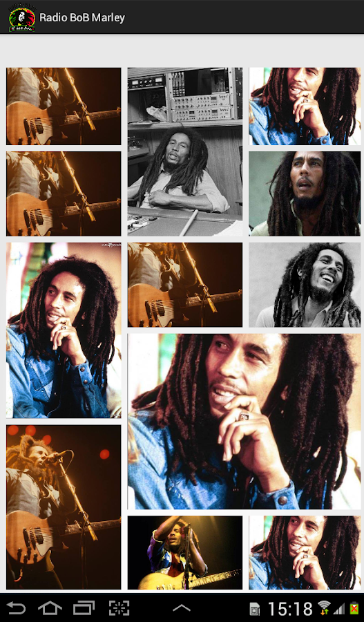 Radio BoB Marley - screenshot