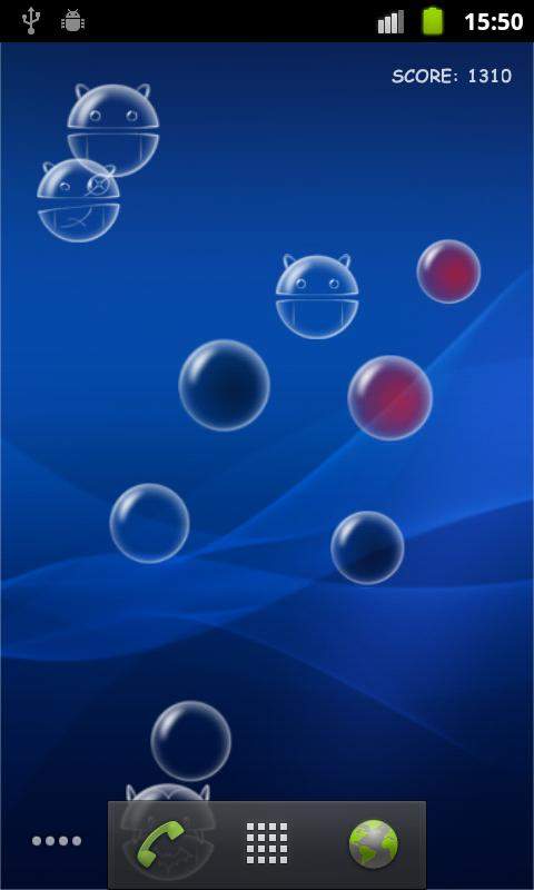 Bubble droid live wallpaper android apps on google play - Droid live wallpaper ...