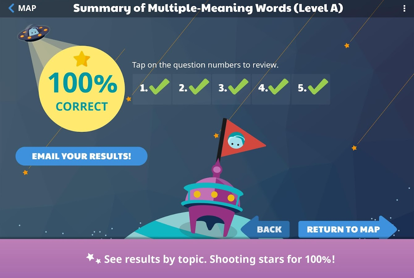Stellar Vocabulary Grade 5- screenshot