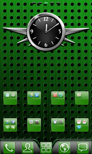 Green Gloss Theme