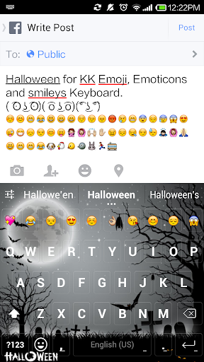 Halloween Emoji Keyboard