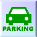 Parking number widget icon