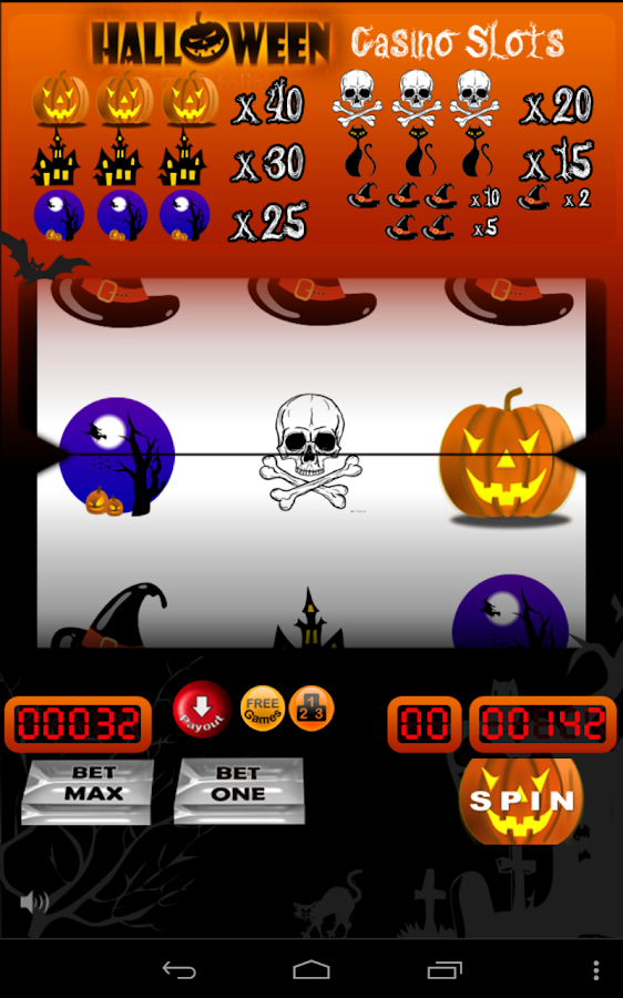 free slot games halloween