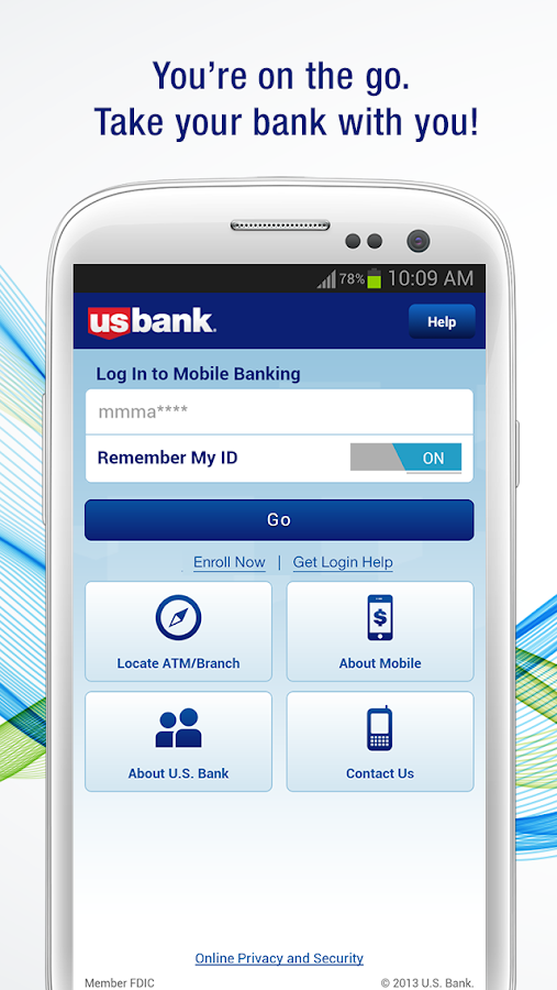 U.S. Bank - screenshot