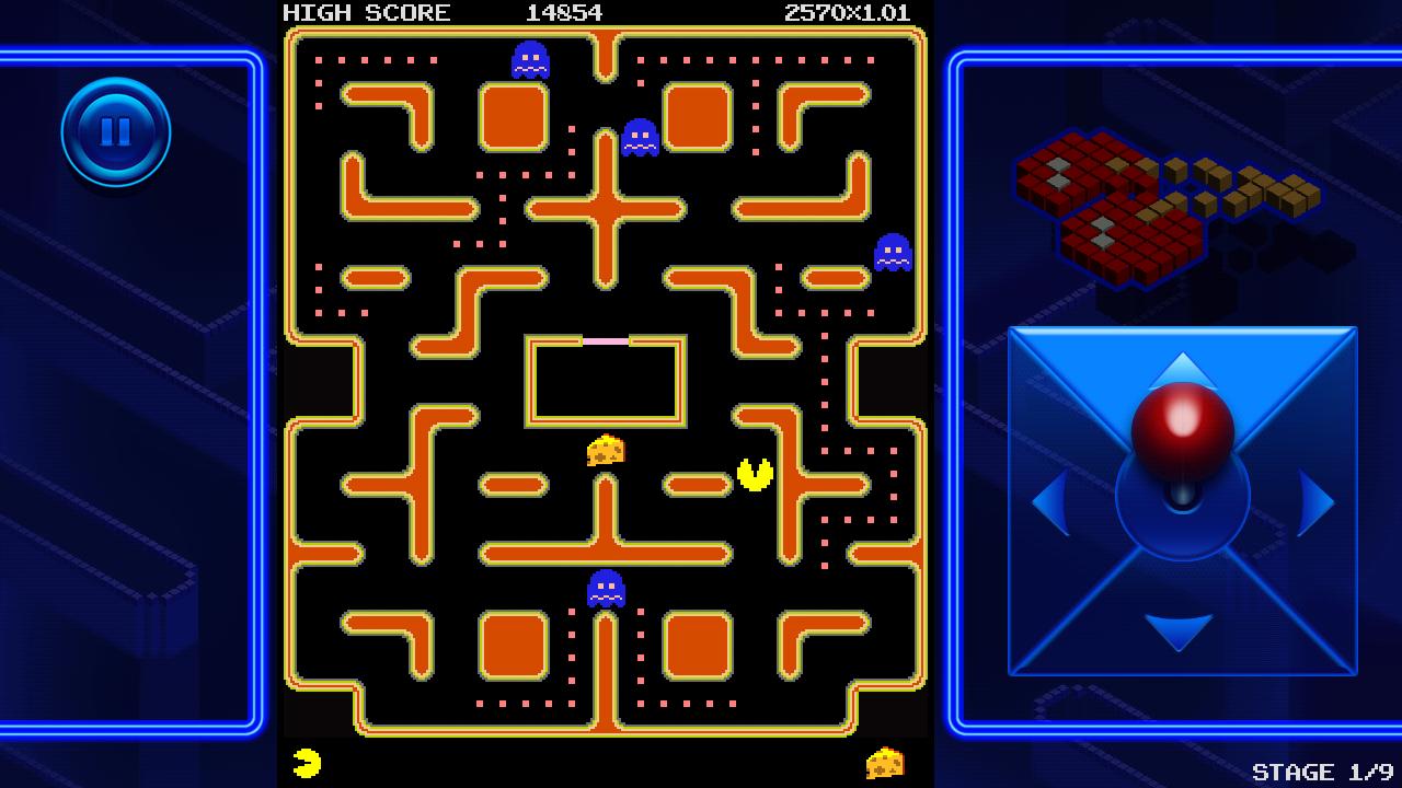 PAC-MAN +Tournaments - screenshot