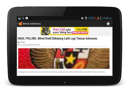 Berita Indonesia screenshot 1