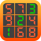 Numbers search icon